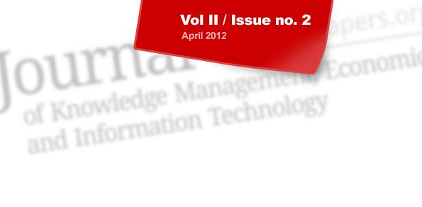Volume II / Issue no. 2